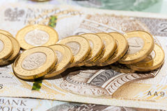 Polish money, close-up Royalty Free Stock Photos