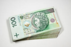 Polish money Royalty Free Stock Photos