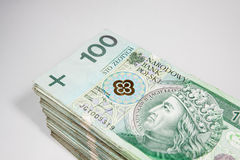 Polish money Stock Photography