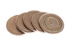 Polish money isolated Royalty Free Stock Images