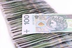 Polish money PLN Royalty Free Stock Photography