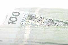Polish money PLN Royalty Free Stock Photography