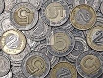 Polish money. Royalty Free Stock Photography