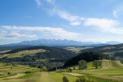 Polish mountains royalty free stock photos