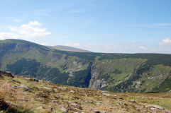 Polish mountains Karkonosze Stock Images