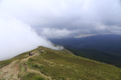 Polish mountains Bieszczady, southern Poland Royalty Free Stock Photography