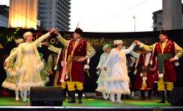 Polish national dance Stock Image