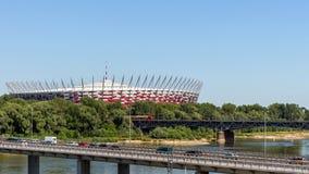 The Polish National Stadium Royalty Free Stock Photos