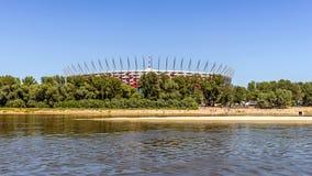 The Polish National Stadium Royalty Free Stock Photography