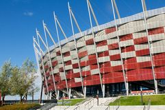 Polish National Stadium in Warsaw Stock Photography
