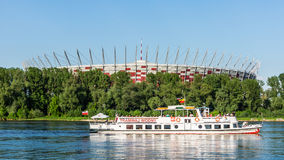 Polish National Stadium in Warsaw Royalty Free Stock Image