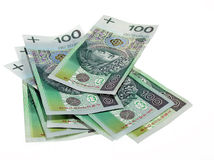 Polish notes Stock Photography