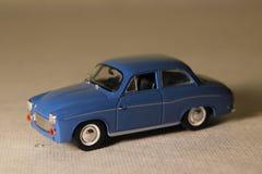 Polish old car. A model of polish old car Syrena Royalty Free Stock Images