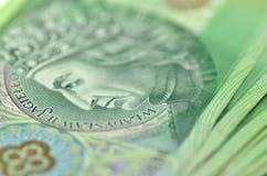 Polish one hundred zloty banknotes Stock Photo