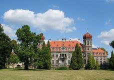 Polish palace Royalty Free Stock Images