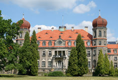 Polish palace Royalty Free Stock Photography
