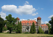 Polish palace Royalty Free Stock Photography
