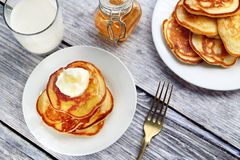 Polish pancakes Royalty Free Stock Images