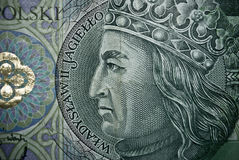 Polish paper money or banknotes Royalty Free Stock Images