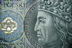 Polish paper money or banknotes Royalty Free Stock Photography