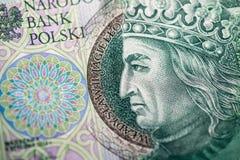 Polish paper money or banknotes Royalty Free Stock Image