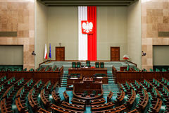 Polish Parliament Stock Image