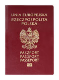 Polish Passport Royalty Free Stock Photo