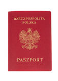 Polish Passport Royalty Free Stock Image
