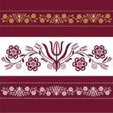 Polish pattern folk Stock Images