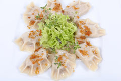 Polish pierogi Stock Photography