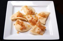 Polish pierogi Royalty Free Stock Photo