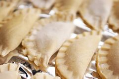 Polish pierogi Royalty Free Stock Photos