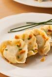 Polish pierogi dish Stock Photo