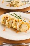Polish pierogi dish Royalty Free Stock Photos