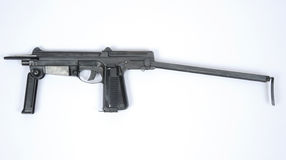Polish PM63 SMG machine gun Stock Image