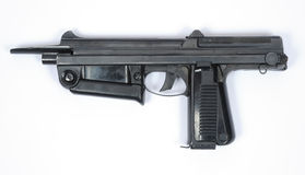 Polish PM63 SMG machine gun Royalty Free Stock Images