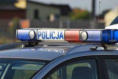 Polish police Stock Photo