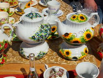 Polish porcelain. Stock Image