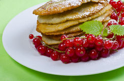 Polish potato pancake Royalty Free Stock Photography