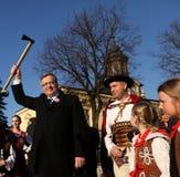 Polish President Bronisław Komorowski Stock Photos