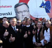 Polish President Bronisław Komorowski Royalty Free Stock Photos
