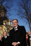 Polish President Bronisław Komorowski Stock Image