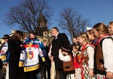 Polish President Bronisław Komorowski Royalty Free Stock Photo