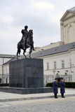 Polish Presidential Palace Stock Photography