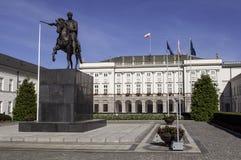 Polish Presidential Palace. Royalty Free Stock Photo