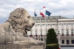 Polish Presidential Palace. Stock Image