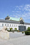 The Polish Presidential Palace in Wrasaw Royalty Free Stock Photo
