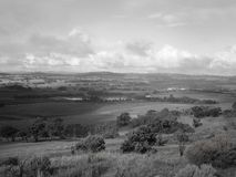 Polish River Valley. Looking over Polish River Valley from Quarry Hill Stock Images