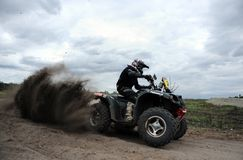 Polish Safari Rally Cross Championship Stock Photos