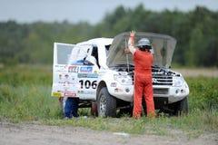 Polish Safari Rally Cross Championship Royalty Free Stock Image